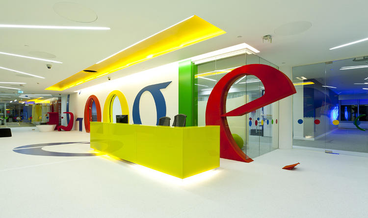 Oficinas de Google-Trabajar para Google.