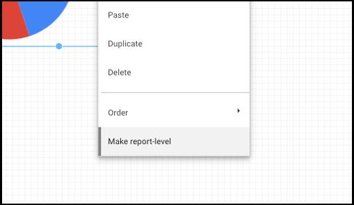 Nivel de informe Data Studio