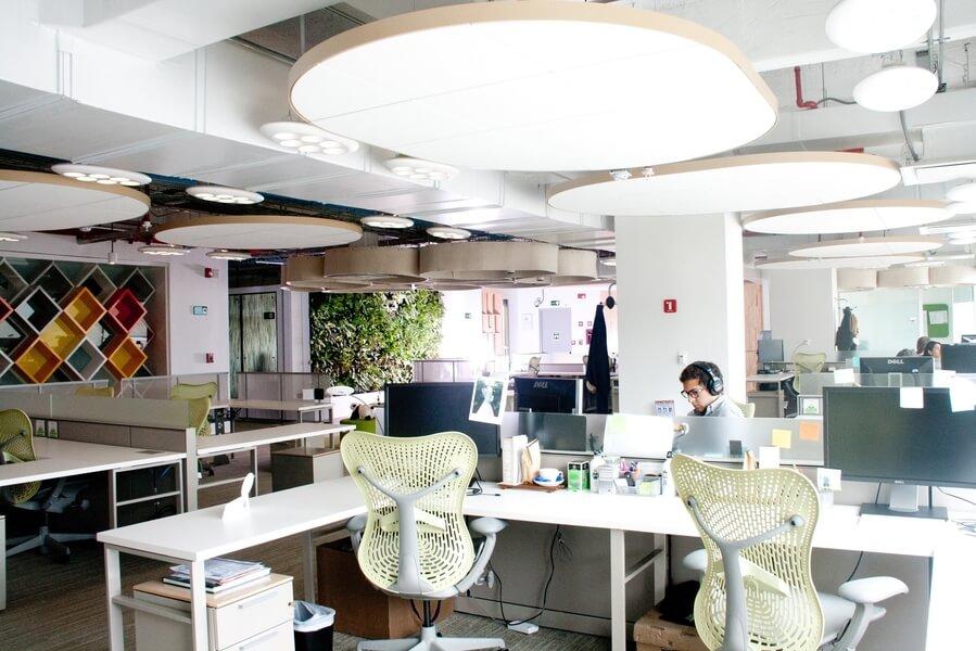 Carlos Arango werken in Google-kantoren