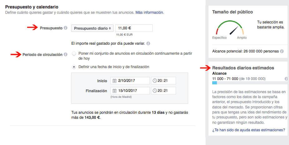 campañas de facebook que convierten