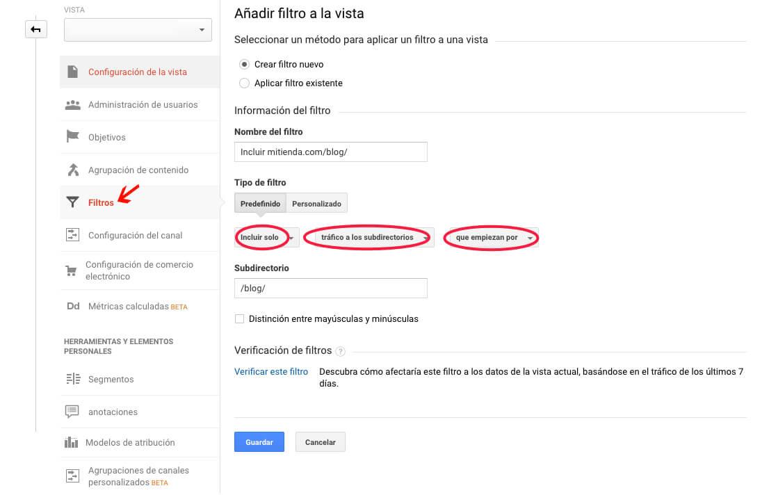 Descubre el potencial de los filtros de Google Analytics