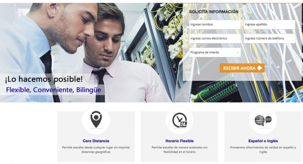 Landing page- Caso de Éxito de AdWords para educación