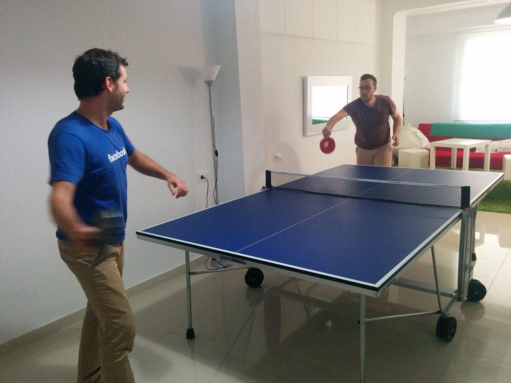 Ping Pong Room in Digital Menta -Business culture