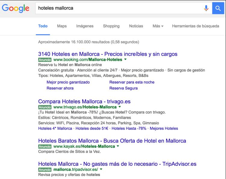 "Resultados de búsqueda para ""hoteles mallorca"""