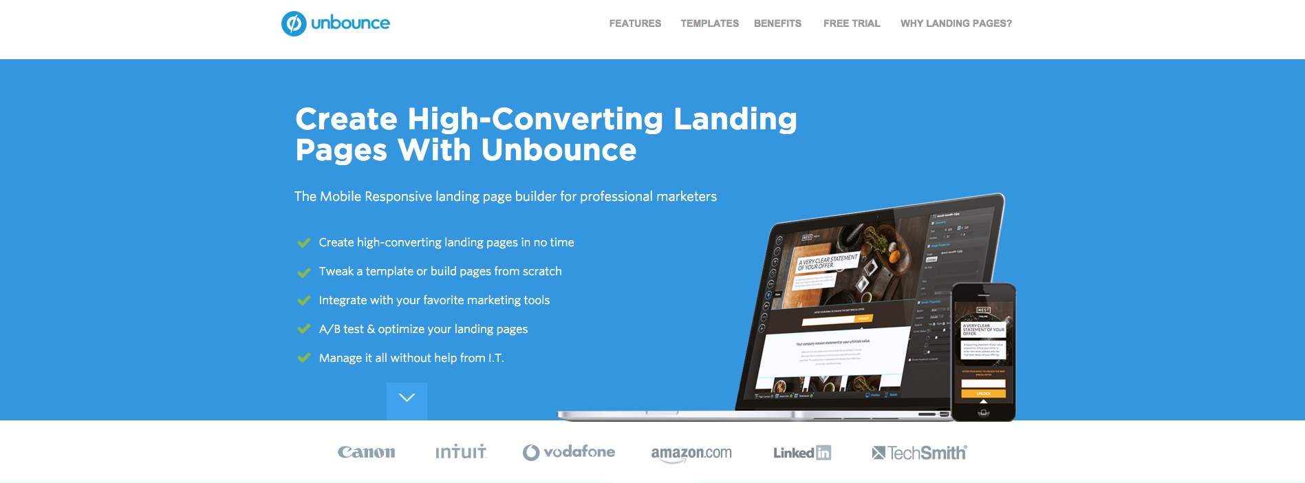 Improves conversion rate