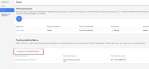 Google complementaire feed