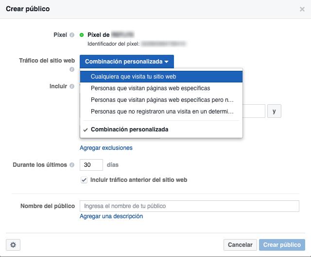 Facebook Pixel-Combination