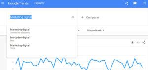 Buscador De Google Trends