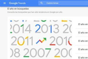 El Año En Búsquedas De Google Trends